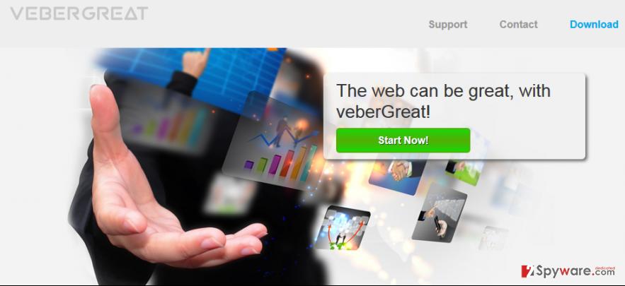 VeberGreat Ads and VeberGreat Deals snapshot