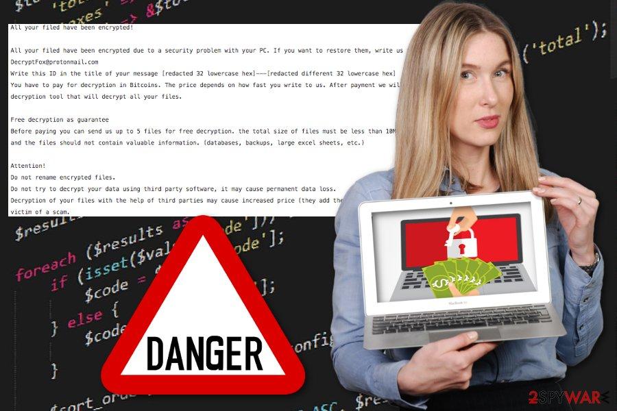 Vendetta ransomware virus
