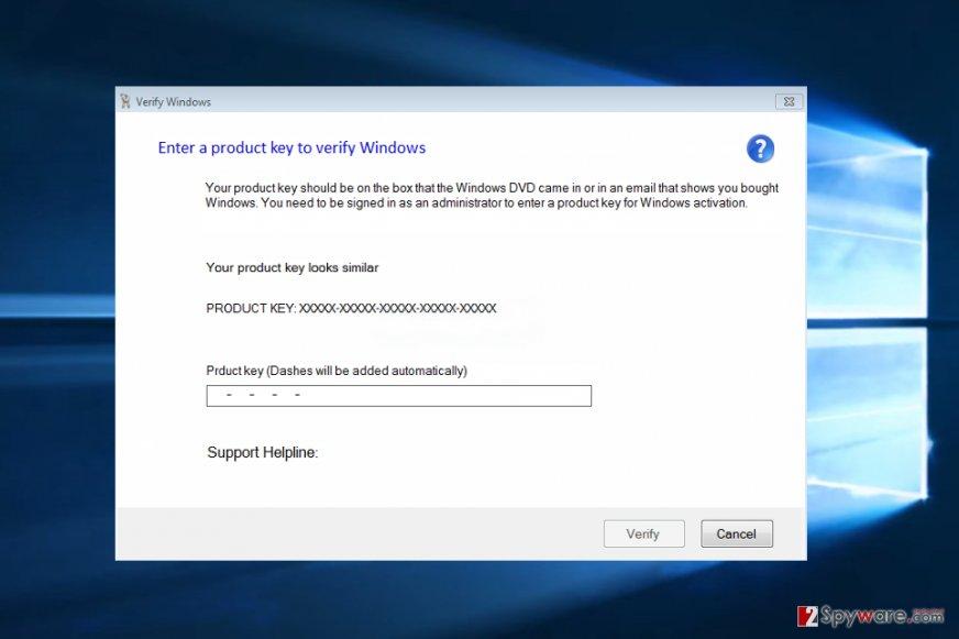Verify Windows virus
