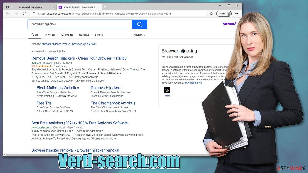 Verti-search.com virus
