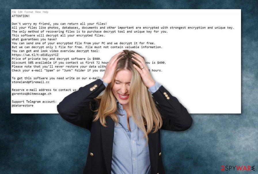 Vesad ransomware virus