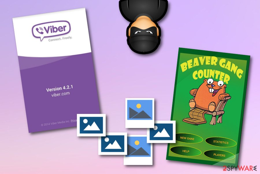Viber virus forms  From A to Z