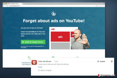 Screenshot of Video Ads Blocker
