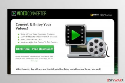 Image of Video Converter download site