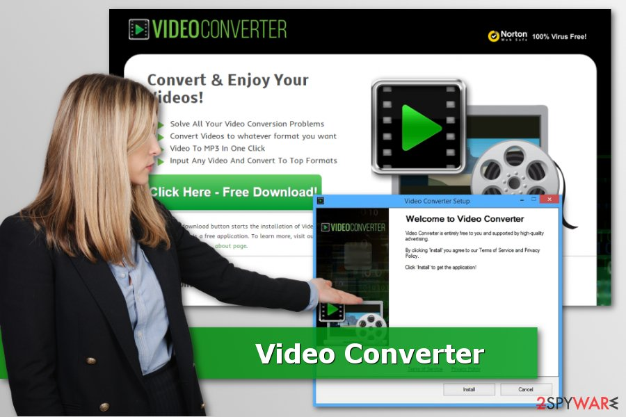 The picture of Video Converter virus