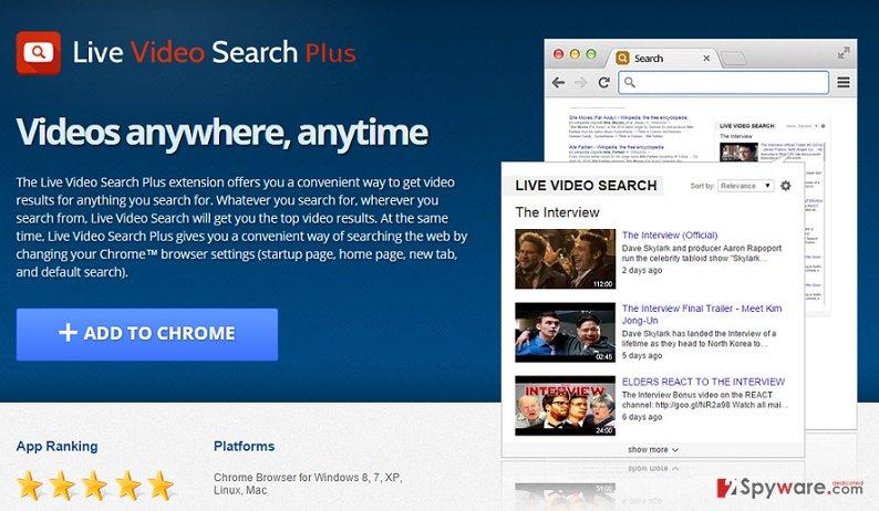 Video Search Tools Plus virus