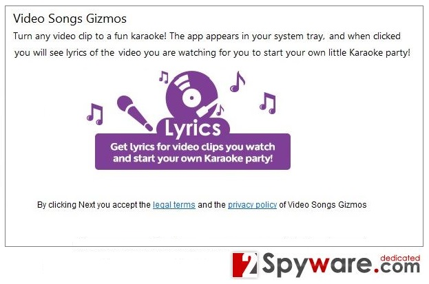 Video Songs Gizmos snapshot
