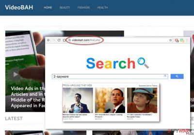 Videobah.com/find.php browser hijacker
