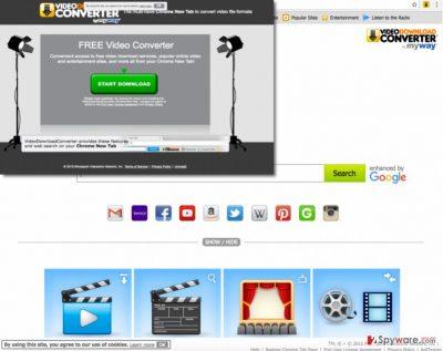 Image showing VideoDownloadConverter Toolbar installation page