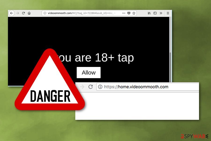 Videoommooth.com virus