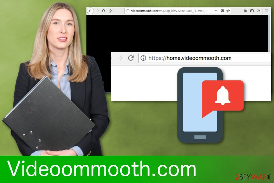 Videoommooth.com redirects