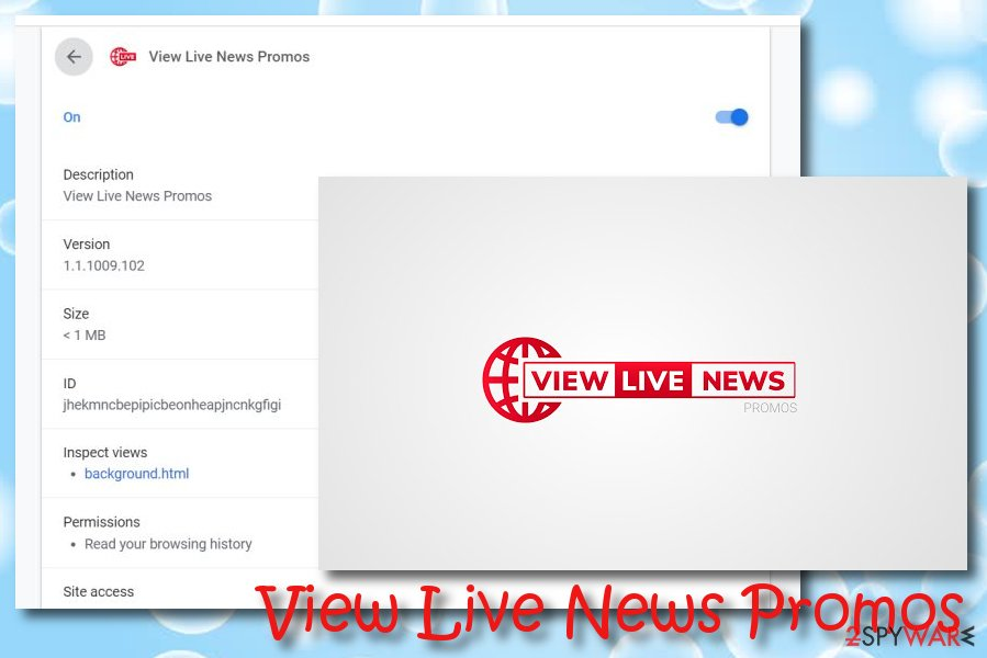 View Live News Promos virus