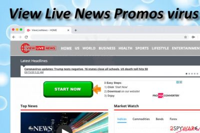 View Live News Promos adware