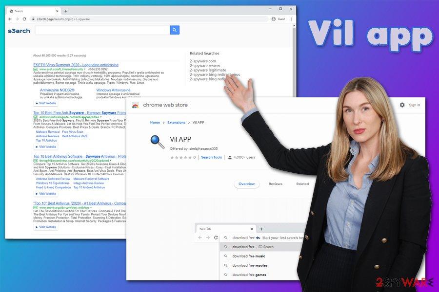 Vil app virus
