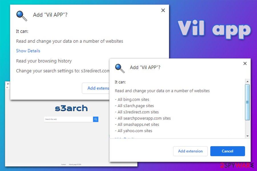 Vil app permissions