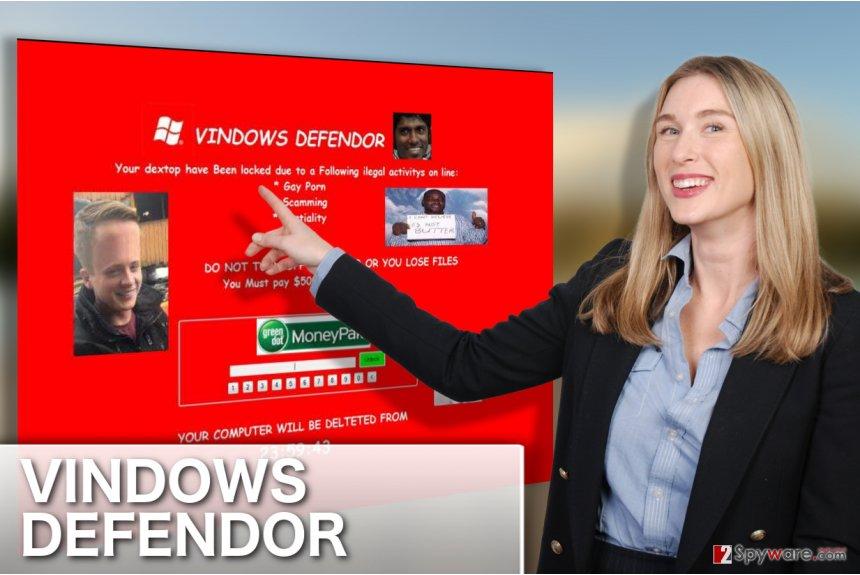 Image of VINDOWS DEFENDOR virus