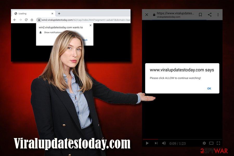 Viralupdatestoday.com adware