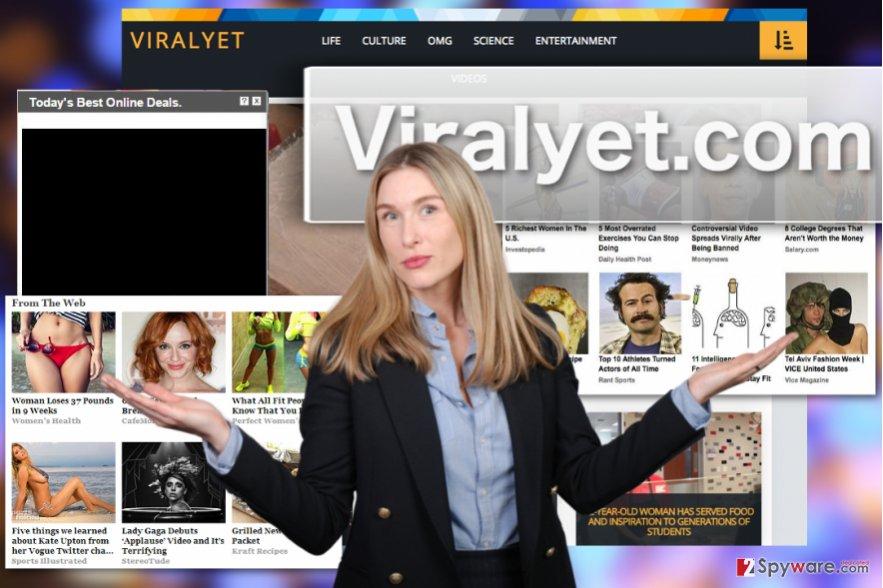 Viralyet.com adware virus