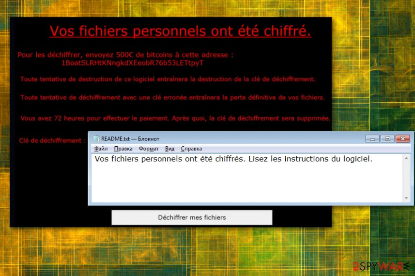 ViroBotnet ransomware