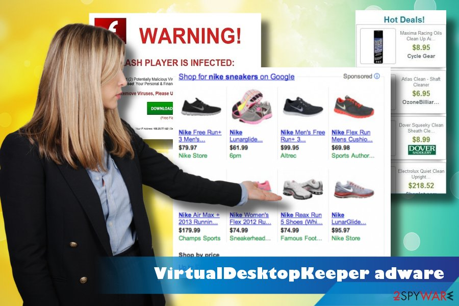 VirtualDesktopKeeper adware remova tutorial