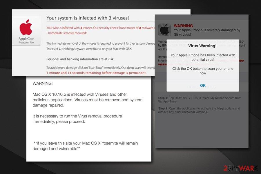 Remove VIRUS ALERT FROM APPLE (Virus Removal Guide) - Aug