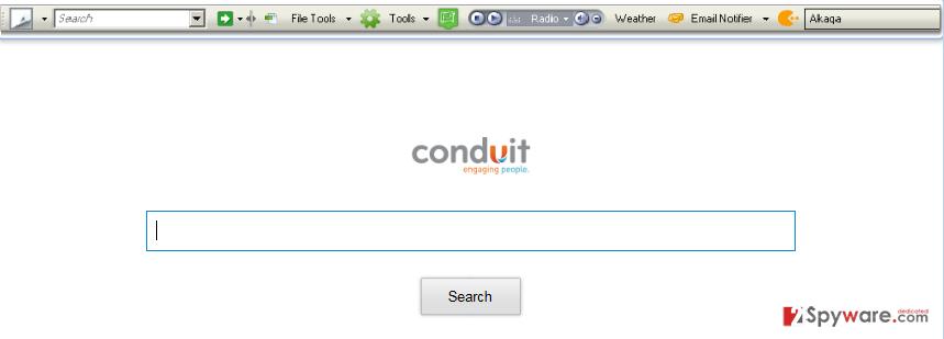 Winload Toolbar snapshot