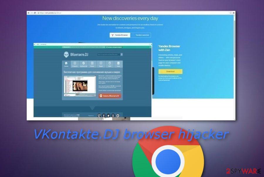 VKontakte.DJ hijack