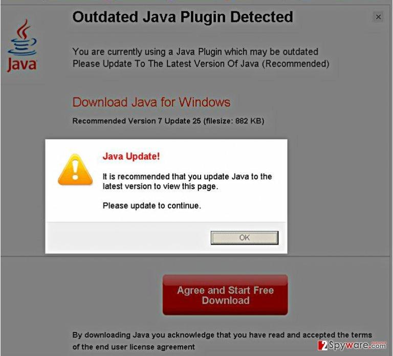 Vlcplayer.blupak.com virus snapshot