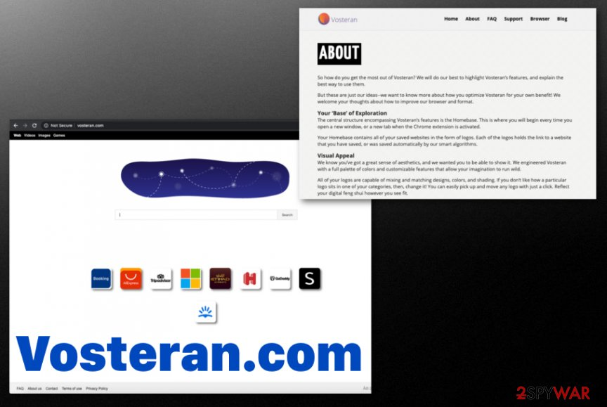 Vosteran.com Redirect