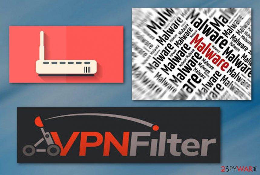 VPNFilter malware virus