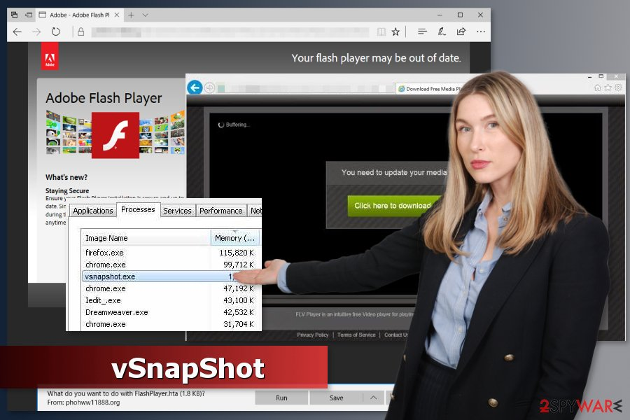 Picture of vSnapShot virus