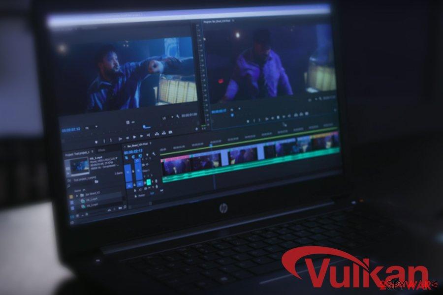 Vulkaninfo HD video editing