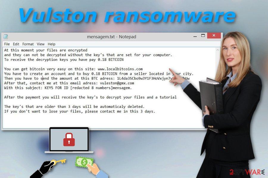 Vulston ransomware