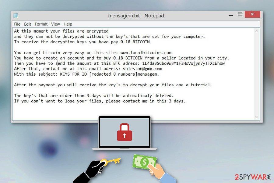 Vulston ransomware virus