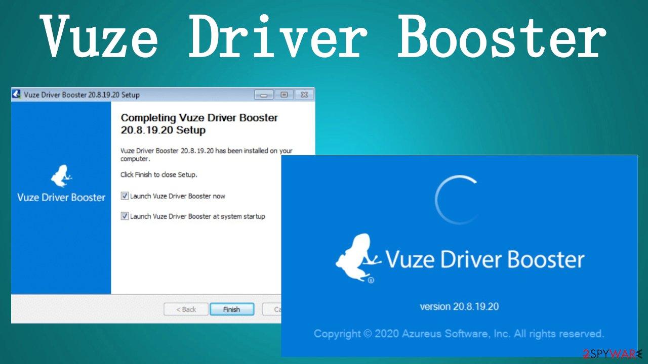 Vuze Driver Booster PUP