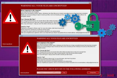vxCrypter ransomware
