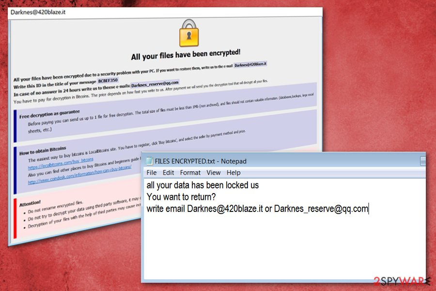 Waifu ransomware