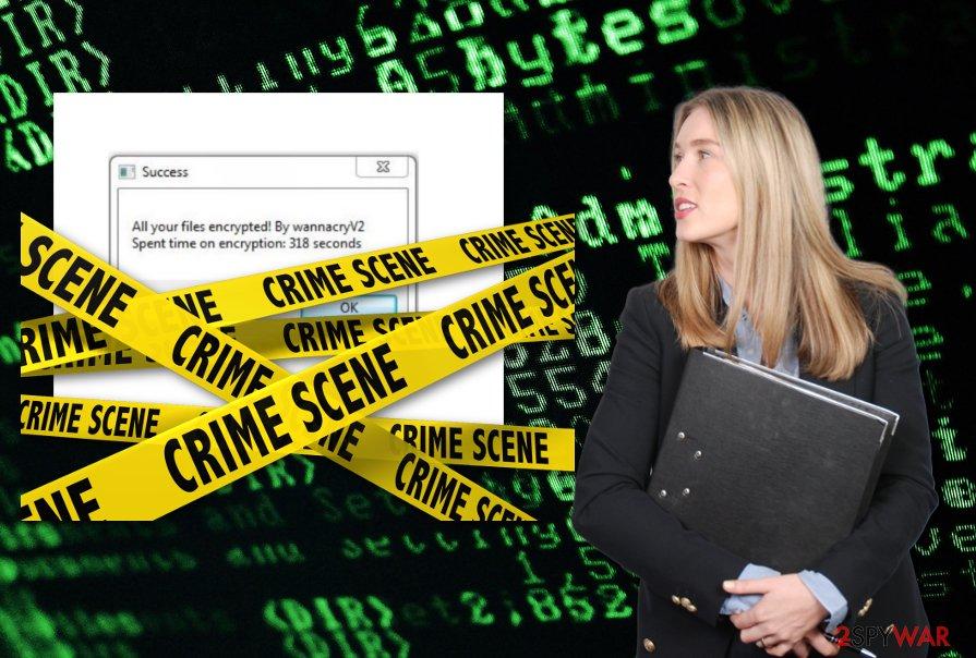 WannacryV2 ransomware