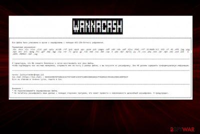 WANNACASH virus