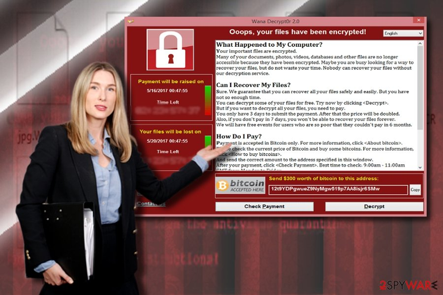 Wannacry 3.0 and WannaCry ransom notes