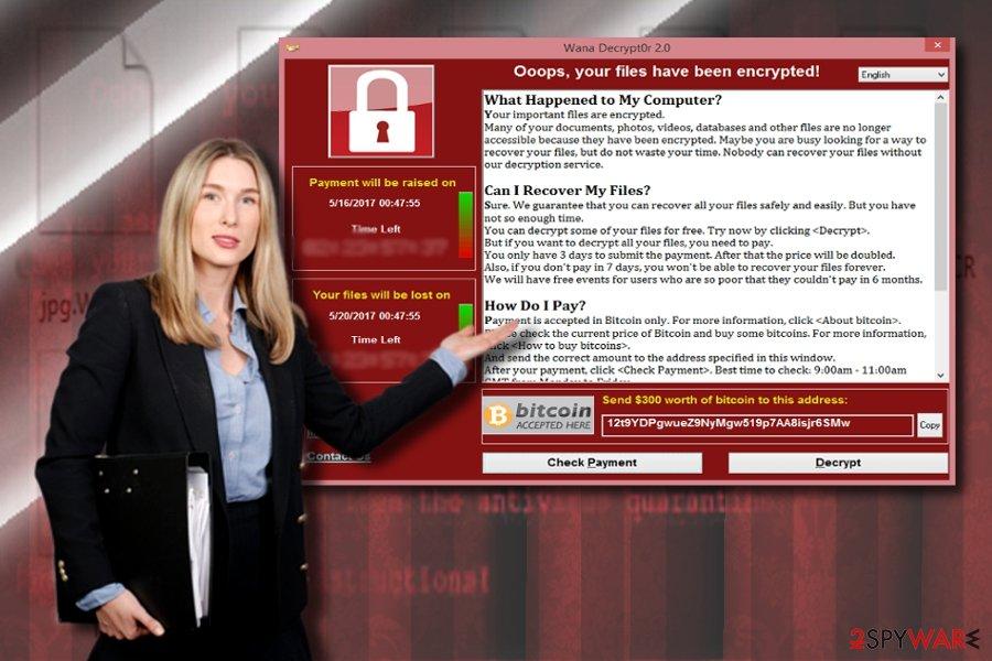 Wannacry 3.0 and WannaCry ransom notes