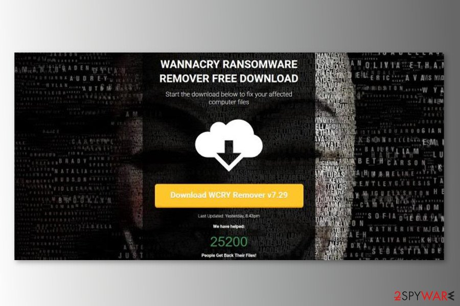 The image of Wannacrydecryptor.com