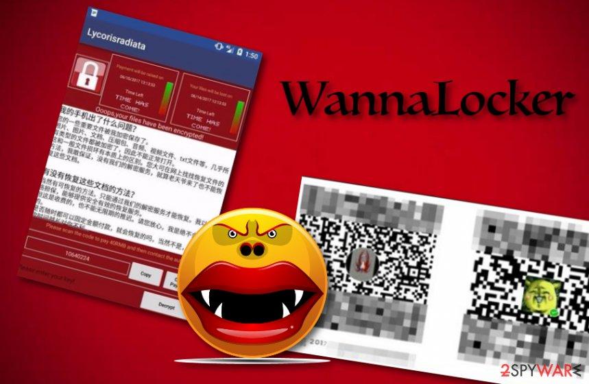 WannaLocker virus