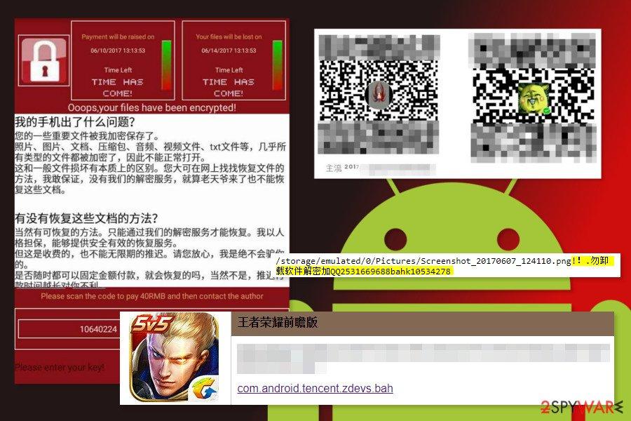 WannaLocker ransomware virus