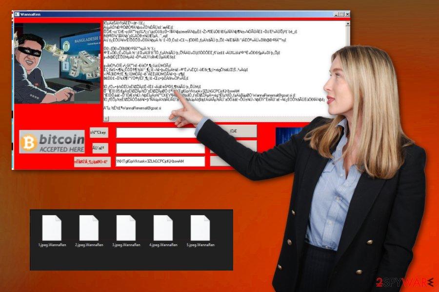 WannaRen ransomware virus