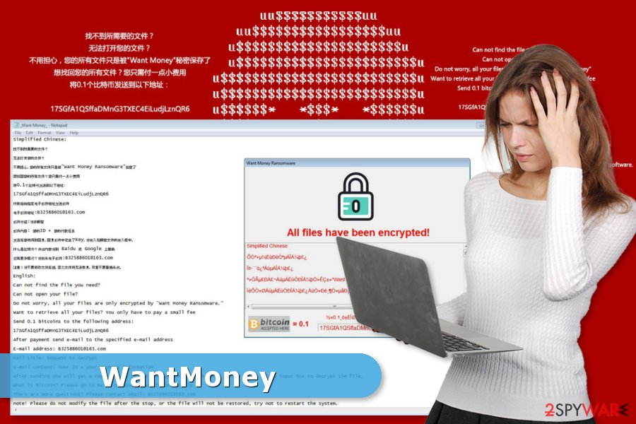 WantMoney ransomware virus