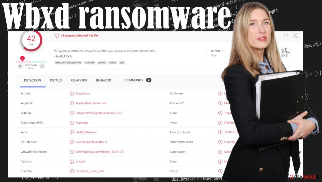 Wbxd ransomware virus