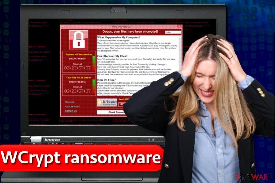 WCrypt ransomware virus