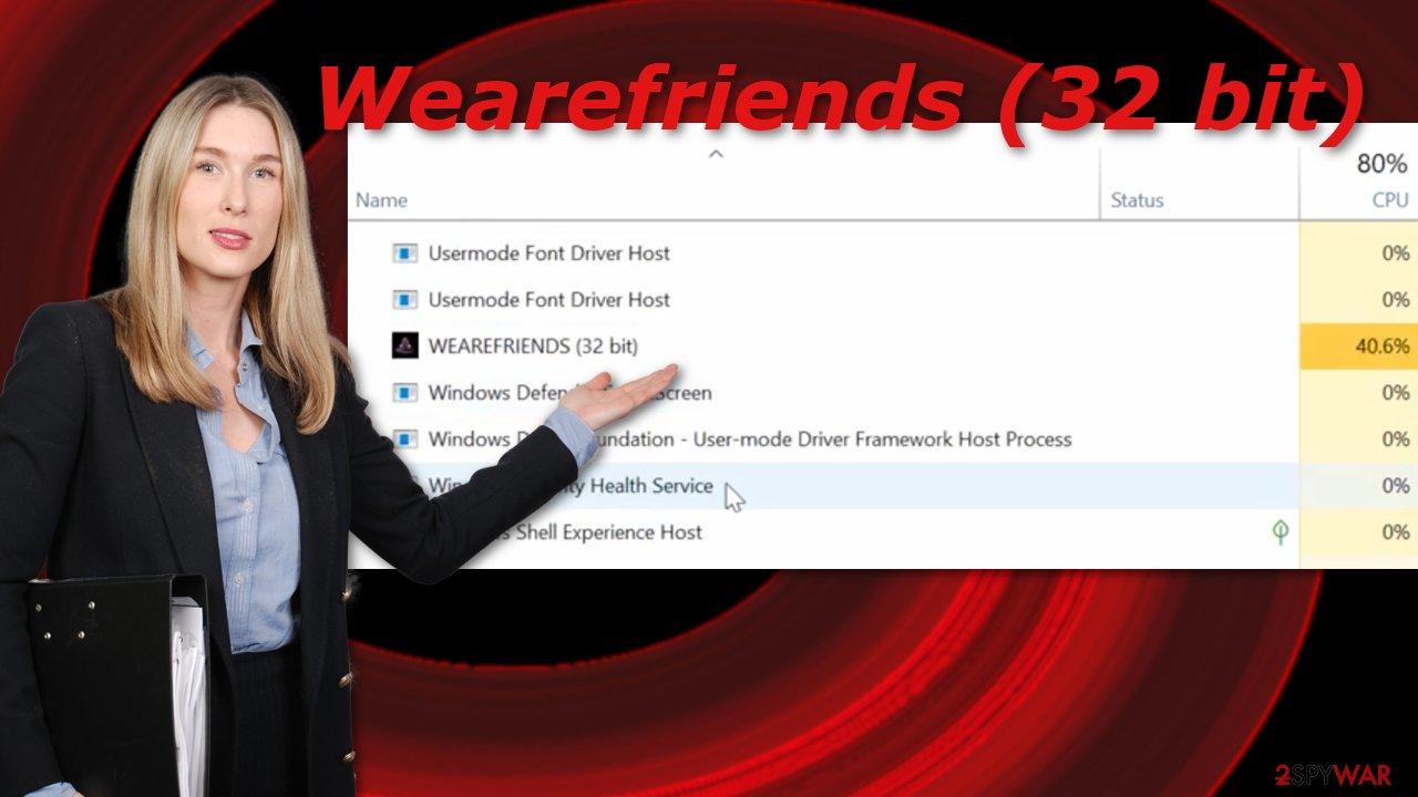 Wearefriends (32 bit)