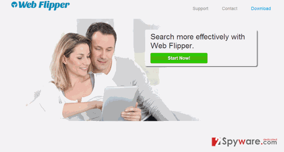 Web Flipper ads